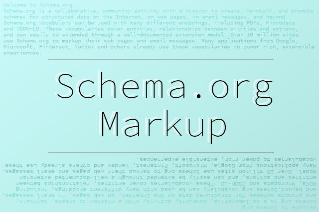 構造化データマークアップ schema.org markup